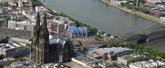 Rundflug Köln und Rheinland