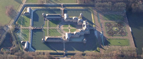 Rundflug Münsterland: Schloss Nordkirchen